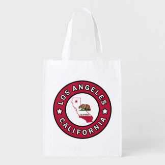 Los Angeles California Market Tote