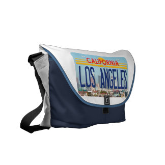 Los Angeles California Messenger Bag