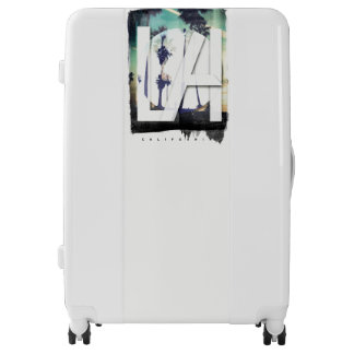 Los Angeles California Palm Tree,  Large Suitcase Luggage