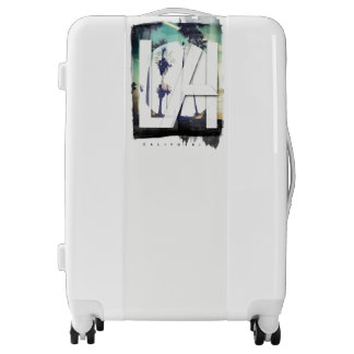 Los Angeles California Palm Tree, Medium Suitcase, Luggage