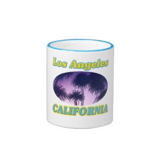 """""""Los Angeles California Palm Trees"""" Mug"""