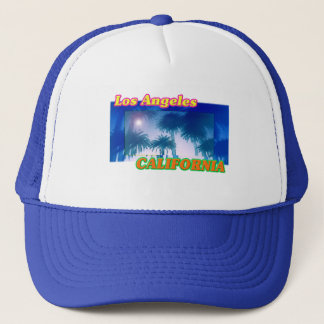 """Los Angeles CALIFORNIA"" Palm Trees Sunshine Hat"