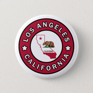 Los Angeles California Pinback Button