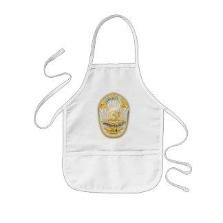 Los Angeles California Police Badge. Kids' Apron