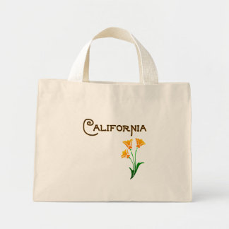 Los Angeles California Poppy Deco Tote