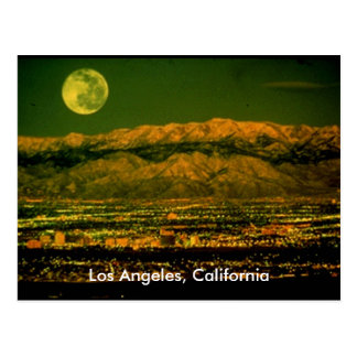 Los Angeles California Postcard