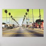 Los Ángeles California Poster