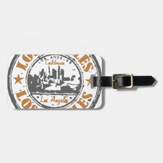 Los Angeles California Pride Seal Bag Tag