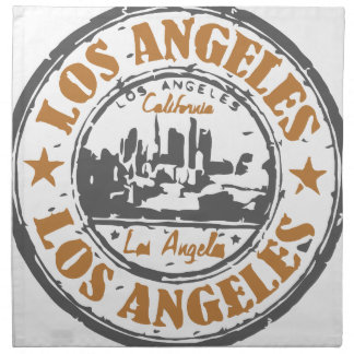 Los Angeles California Pride Seal Cloth Napkin