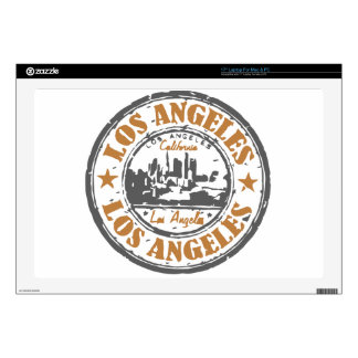 Los Angeles California Pride Seal Decals For Laptops