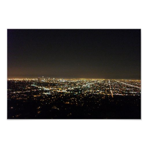 Los Angeles California Print
