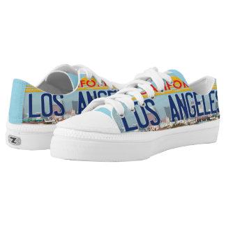 Los Angeles California Printed Shoes
