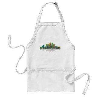 Los Angeles California Skyline Adult Apron