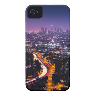 Los Angeles, California Skyline at night iPhone 4 Covers