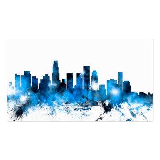 Los Angeles California Skyline Business Card