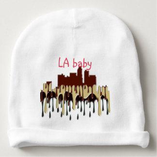 LOS ANGELES, CALIFORNIA SKYLINE - CC BABY BEANIE