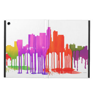 LOS ANGELES, CALIFORNIA SKYLINE PUDDLES - CASE FOR iPad AIR