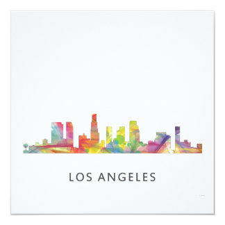 LOS ANGELES, CALIFORNIA SKYLINE WB1- CARD