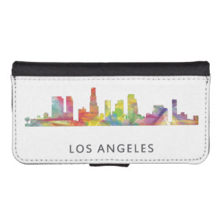 LOS ANGELES, CALIFORNIA SKYLINE WB1- iPhone SE/5/5s WALLET CASE