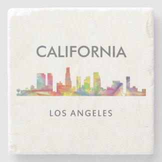LOS ANGELES, CALIFORNIA SKYLINE WB1- STONE COASTER