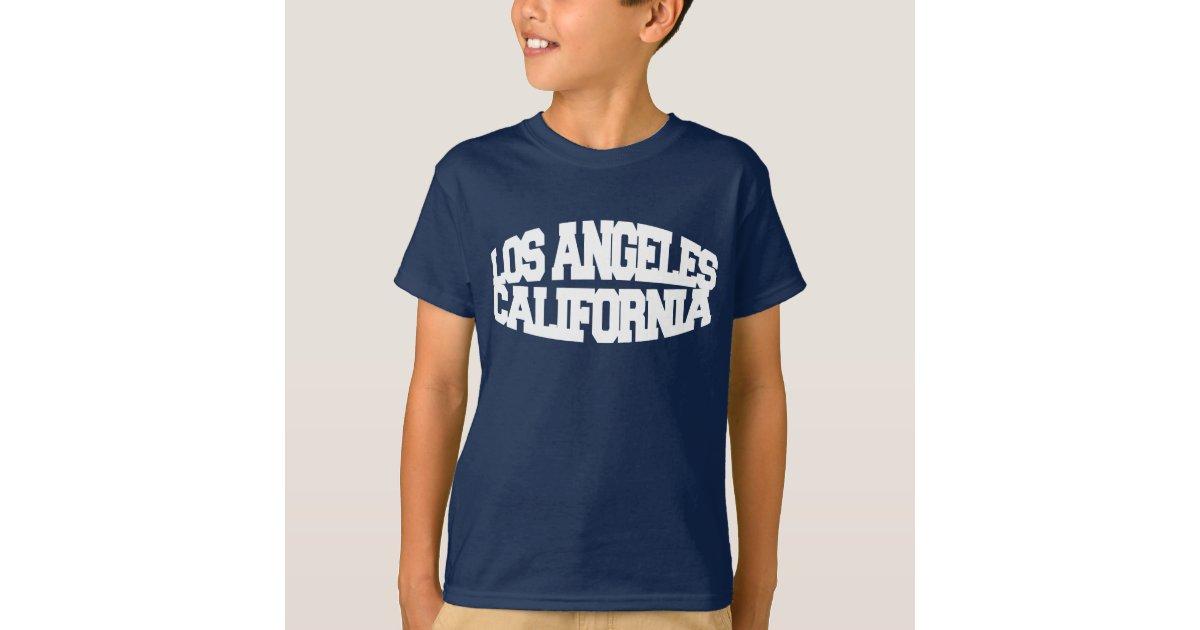Los angeles california t shirt zazzle for Los angeles california shirt