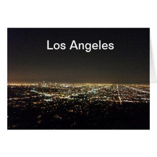 Los Ángeles California Tarjeta De Felicitación