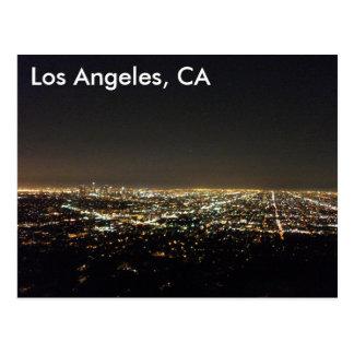 Los Ángeles California Tarjeta Postal