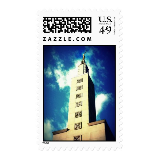 Los Angeles, California Temple Stamp