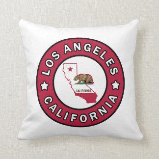 Los Angeles California Throw Pillow