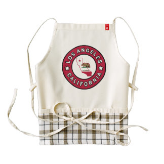 Los Angeles California Zazzle HEART Apron
