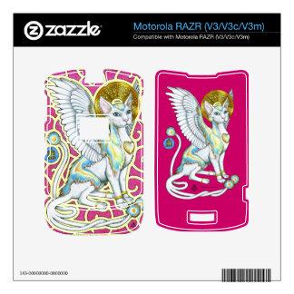 Los ángeles caminan en 4 el esquí de Motorola RAZR Calcomanía Para Motorola RAZR