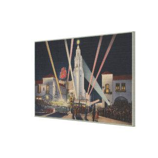 Los Ángeles, CAPremier, teatro del círculo de Cart Impresiones En Lienzo Estiradas