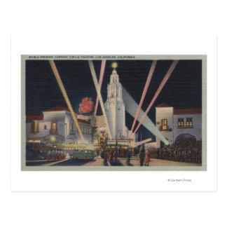 Los Ángeles, CAPremier, teatro del círculo de Postales