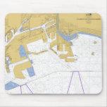 Los Ángeles, carta náutica del puerto de CA Tapete De Ratones