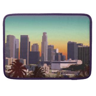 Los Ángeles céntrico, California Fundas Para Macbooks