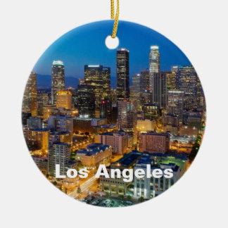 Los Ángeles céntrico en la oscuridad Ornamento De Reyes Magos