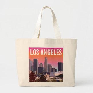 Los Ángeles céntrico - imagen adaptable Bolsa Tela Grande