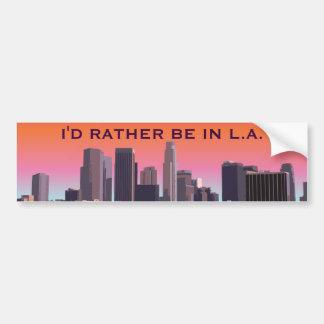 Los Ángeles céntrico - imagen adaptable Pegatina Para Auto