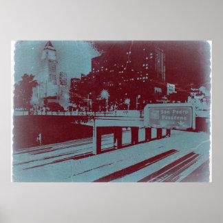 Los Ángeles céntrico Poster