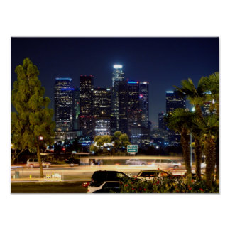 Los Ángeles céntrico Posters