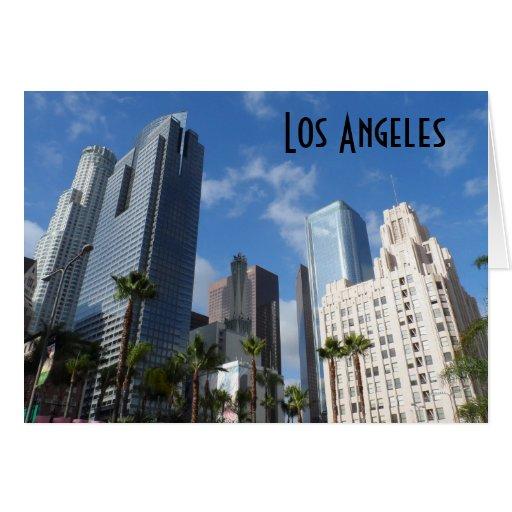 Los Ángeles céntrico Tarjeta Pequeña
