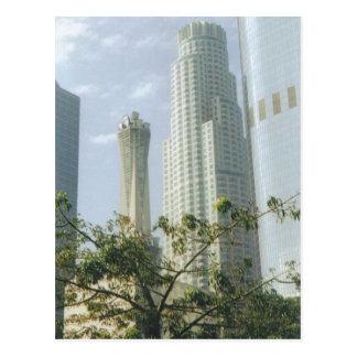 Los Ángeles céntrico Tarjeta Postal