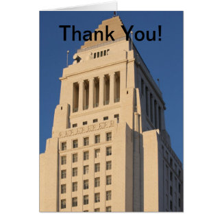 Los Angeles City Hall Greeting Cards