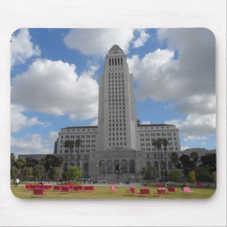 Los Angeles City Hall Mouse Pad