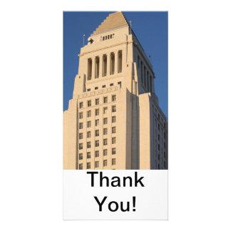 Los Angeles City Hall Photo Greeting Card