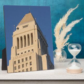 Los Angeles City Hall Plaque
