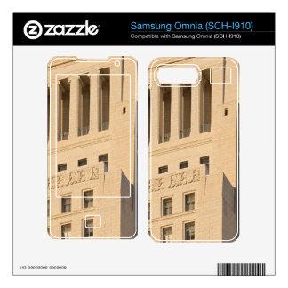 Los Angeles City Hall Skin For Samsung Omnia