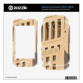 Los Angeles City Hall Samsung Omnia II Skins