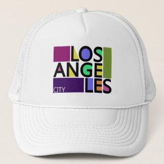 Los Angeles City Modern Typography Trucker Hat