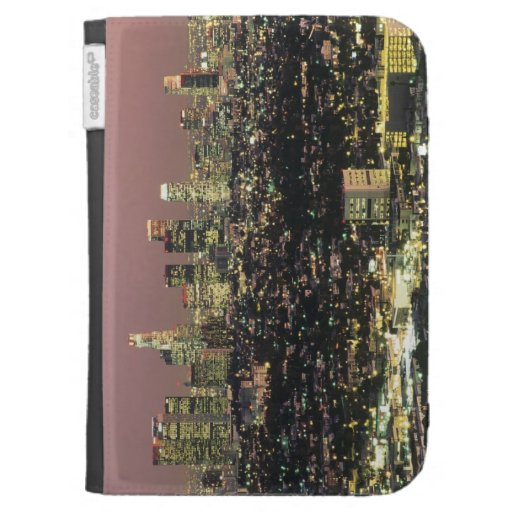 Los Angeles Cityscape at Night Case For Kindle